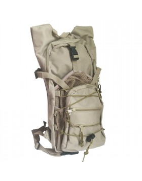 Zaino Zainetto Tattico Militare TAN in Cordura per Softair