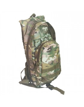 Zaino Borsone Tattico Vegetato Multicam 3 Giorni in Cordura per Softair Outdoor